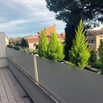 Marinelli System balcone vista interna